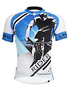 ILPALADINO Camisa para Ciclismo Homens Manga Curta Moto Camisa/Roupas Para Esporte Blusas Ciclismo Secagem Rápida Resistente Raios