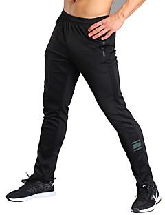 Herre Løbebukser Fitness, Løb & Yoga Tights Underdele Løbe Træning & Fitness Jogging Fitness Polyester Spandex Tynd Sort M L XL XXL