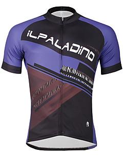 ILPALADINO Camisa para Ciclismo Homens Masculino Manga Curta Moto Camisa/Roupas Para Esporte Blusas Ciclismo Secagem Rápida Resistente