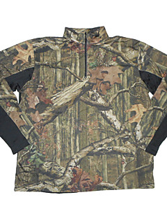 Χαμηλού Κόστους Μπλούζες φλις, πουλόβερ και γιλέκα για κυνήγι-Ανδρικά Ανθεκτικό στη φθορά Ικανότητα να αναπνέει Μπολύζες Μακρυμάνικο για Κυνήγι