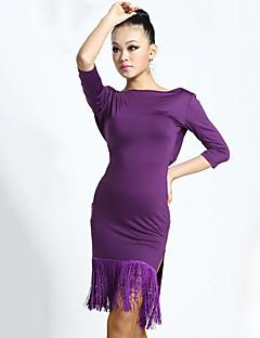 ラテンダンス ワンピース 女性用 プロミックス 1個 五分袖 ナチュラルウエスト ドレス