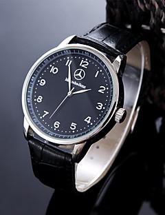 Herrn Modeuhr Armbanduhr Einzigartige kreative Uhr Armbanduhren für den Alltag Sportuhr Kleideruhr Chinesisch Quartz Wasserdicht Leder