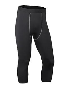 billige Løbetøj-Herre Træningsleggings / Løbetights Fitness, Løb & Yoga, Hurtigtørrende, Anatomisk design Shorts / Underdele Træning & Fitness /