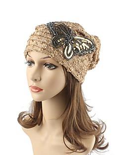 Dames Hoofddeksels Schattig Informeel Chic & Modern Casual/Dagelijks Gebreid Herfst Winter Katoen Gestreept Beanie / Slouchy Floppy hoed