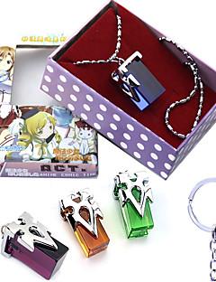 billige Anime cosplay-Mer Tilbehør Inspirert av Sword Art Online Kirito Harpiks Legering 3*2 CM Modell Leker Dukke