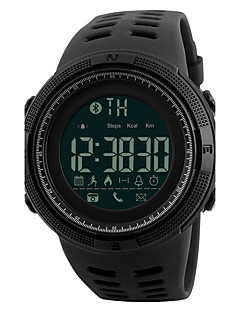 SKMEI Herre Sportsklokke Militærklokke Moteklokke Armbåndsur Unike kreative Watch Digital Watch Japansk Digital LED Fjernkontroll