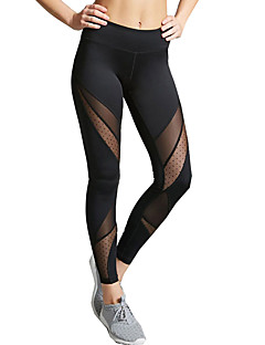Women's Medium Stitching Solid Color Sporty Legging,Solid