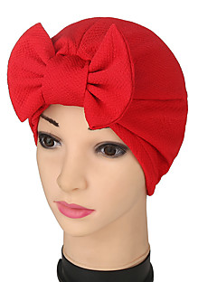Da donna Primavera/Autunno Estate Filmdi plastica Tessuto Cappelli Fiore A falda larga,Collage Floreale Colori misti