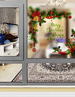 樹木/葉 ウインドウステッカー,PVC /ビニール 材料 窓の飾り