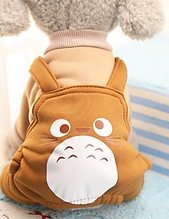 billiga Hundkläder-Hund Dräkter/Kostymer Kappor Jumpsuits Byxor Hundkläder Djur Purpur Kaffe Röd Cotton Kostym För husdjur Herr Dam Fest Ledigt/vardag