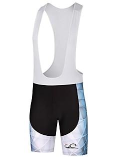 billige Sykkelklær-Shorts med seler til sykning Herre Sykkel Sykkelshorts Med Seler Bunner Sykkelklær Fukt Wicking Ventilasjon Fort Tørring Fjellsykling