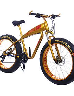 baratos Total Promoção Limpa Estoque-Bicicleta De Montanha Ciclismo 24 velocidade 26 polegadas / 700CC SHIMANO TX30 Freio a Disco Duplo Suspensão Garfo liga de alumínio Alumínio / Liga
