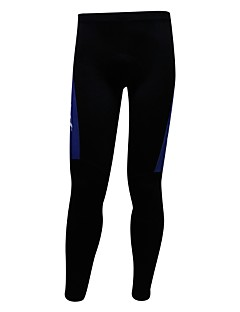billige Sett med sykkeltrøyer og shorts/bukser-SPAKCT Herre Sykkeltights - Blå og svart Sykkel Tights, Ultraviolet Motstandsdyktig