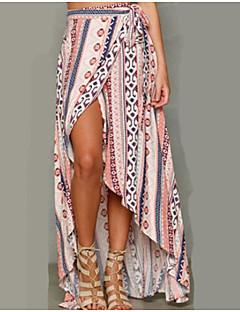 Χαμηλού Κόστους Bodysuits styles-Γυναικεία Κούνια Μπόχο Παραλία Φούστες - Πολύχρωμο, Στάμπα