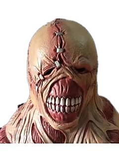 billige Halloweenkostymer-Skjelett / Kranium Zombie Monstere Cosplay Maskerade Halloween Utstyr Herre Dame Halloween Karneval De dødes dag Festival / høytid