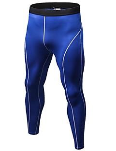 billige Løbetøj-Herre Træningsleggings / Løbetights Fitness, Løb & Yoga, Hurtigtørrende, Anatomisk design Tights / Underdele Træning & Fitness /
