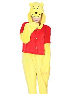 Kigurumi Pyjamas Bjørn Kostume Flannelstoff Cosplay Kostumer Kigurumi Trikot / Heldraktskostymer Cosplay Festival / høytid Pysjamas med