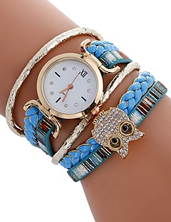 Women's Kid's Sport Watch Fashion Watch Wrist watch Bracelet Watch Unique Creative Watch Casual Watch Chinese Quartz Owl Style Colorful PU