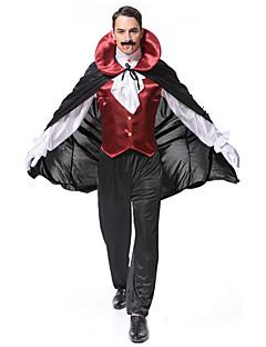 billige Voksenkostymer-Vampyrer Cosplay Cosplay Kostumer Herre Voksne Halloween Karneval Festival / høytid Halloween-kostymer Drakter Annen Vintage