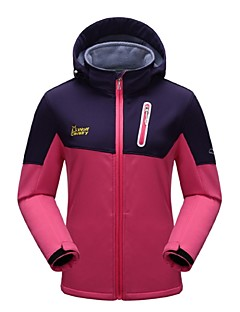 Dames Fleece wandeljack Winddicht Draagbaar Ademend Rekbaar Buiten Winter Fleece jacks / Fleecetruien Softshell jacks Winterjack Kleding