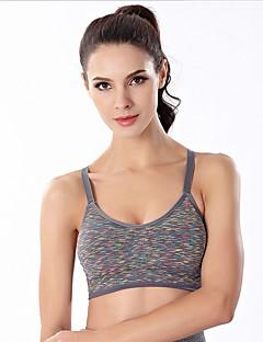 billige Løbetøj-Dame Let støtte SportsBH'er Svedreducerende, Strækkende, Åndbarhed SportsBH'er / Toppe for Yoga / Vej Cykling / Træning & Fitness Nylon