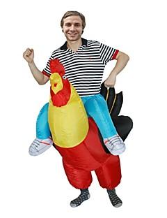 billige Halloweenkostymer-Kylling Voksne Jul Halloween Karneval Festival / høytid Halloween-kostymer Dyremønster