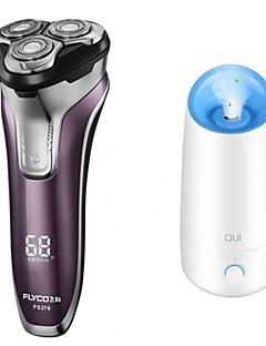 flyco fs376 humidificador de barbear de barbear elétrico 100240v carga rápida lavável