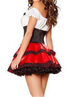 Prinsesse Eventyr Stuepike Kostumer Badedrakt/Kjoler Voksne Halloween Festival/høytid Halloween-kostymer Vintage