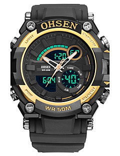 Men's Women's Sport Watch Military Watch Digital Watch Japanese Quartz Calendar Chronograph Water Resistant / Water Proof Noctilucent