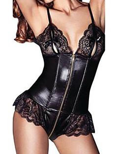 voordelige -Dames Sexy Teddy Ultrasexy Nachtkleding - Effen