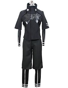 """billige Anime Kostymer-Inspirert av Tokyo Ghoul Ken Kaneki Anime  """"Cosplay-kostymer"""" Cosplay Klær Helfarge Frakk / Trikot / Heldraktskostymer / Bukser Til Herre"""