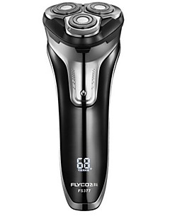 flyco fs377 barbermaskin razor 100-240v vaskbar hurtigladning