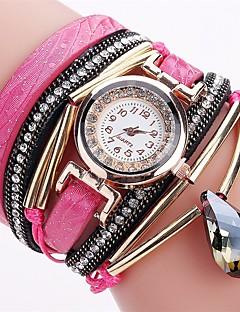 Mulheres Relógio Esportivo Relógio de Moda Bracele Relógio Relógio Casual Simulado Diamante Relógio Chinês Quartzo Impermeável PU Banda
