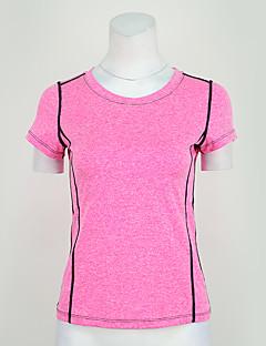 billige Løbetøj-Løbe-T-shirt Sport T-Shirt / Toppe Yoga, Træning & Fitness, Løb Elastisk Lilla, Rosa / Hurtigtørrende