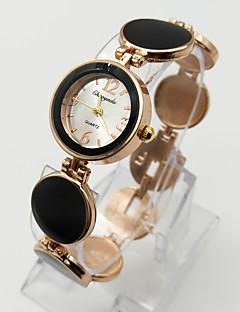 Women's Fashion Watch Bracelet Watch Casual Watch Quartz Alloy Band Dot Casual White