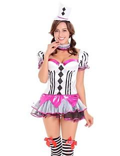 Eventyr Burlesk/Klovn Cosplay Kostumer Voksne Halloween Festival/høytid Halloween-kostymer Mote Vintage