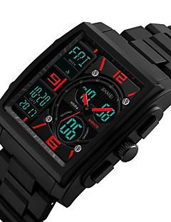 billige Digitalure-Herre Quartz Digital Watch / Armbåndsur / Militærur / Sportsur Japansk Kalender / Kronograf / Vandafvisende / Kreativ / Stor urskive /