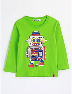 tanie Odzież dla chłopców-Bluzka Bawełna Dla chłopców Rysunek Jesień Długi rękaw Kreskówka Clover
