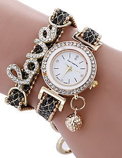 Women's Kid's Dress Watch Fashion Watch Simulated Diamond Watch Bracelet Watch Unique Creative Watch Chinese Quartz Water Resistant /