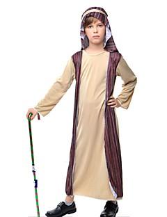 Etnisk/Spirituell Drakter Barn Halloween Jul Festival/høytid Halloween-kostymer Lapper