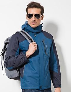 cheap Softshell, Fleece & Hiking Jackets-LEIBINDI Men's Hiking Down Jacket Outdoor Winter Windproof Wearable Stretchy Winter Fleece Jacket Top Single Slider Recreational Cycling