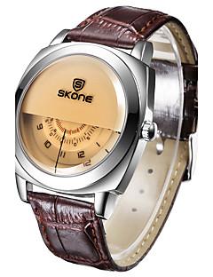 billige Modeure-Herre / Dame Digital Watch / Armbåndsur / Smartur Kinesisk Kalender / Kreativ / Stor urskive Læder Bånd Vedhæng / Luksus / Unikke