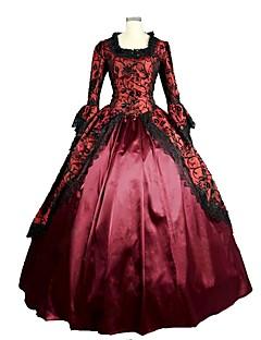 Cinderella Gudinne Nisse drakter Cosplay Kostumer Voksne Halloween Jul Karneval Nytt År Festival/høytid Halloween-kostymer Rød Trykt