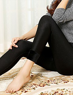 Women's Others Velvet Thick Fleece Lined Legging,Solid