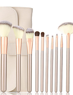 cheap -12pcs Professional Makeup Brushes Makeup Brush Set Synthetic Hair Lipstick / Eyebrow / Eyeliner
