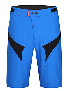 baratos Total Promoção Limpa Estoque-SANTIC Homens Shorts para Ciclismo Moto Shorts / Shorts largos / Shorts Roupa interior Tapete 3D, Secagem Rápida, Resistente Raios