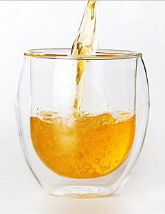 Χαμηλού Κόστους Ποτήρια Κρασιού-Ίνες Υάλοου Κούπα Κύπελλο και πιατάκι Κρασοπότηρο Θερμομονωμένο διπλού τοιχώματος 1 Καφέ Γάλα drinkware