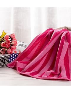 Frisse stijl Handdoek,Gestreept Superieure kwaliteit Puur Katoen Handdoek