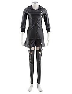 """Inspirert av Tokyo Ghoul Kirishima Touka Anime  """"Cosplay-kostymer"""" Cosplay Klær Ensfarget Frakk Skjørte Til Mann"""