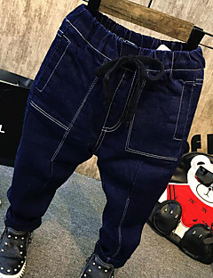 Boys' Solid Jeans Winter